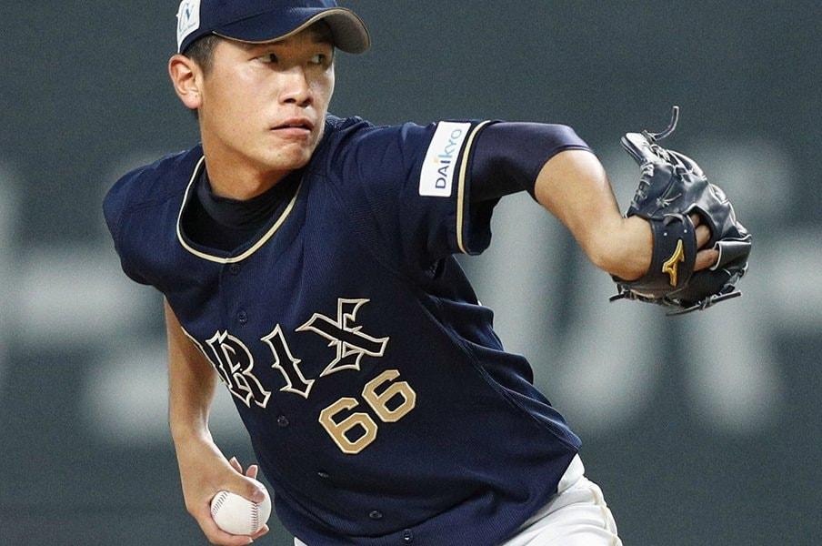 """「過去の栄光引きずってましたね」オリ吉田凌が乗り越えた""""あの頃""""。<Number Web> photograph by Kyodo News"""