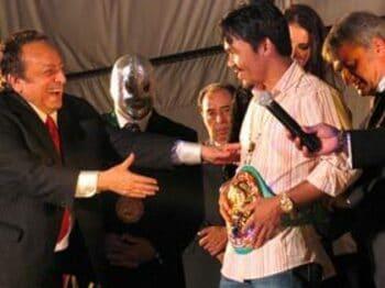ボクシングと格闘技の最高級ブランド誕生か?<Number Web> photograph by Koji Fuse