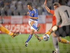 【キリンカップ2009 日本×ベルギー】 ウズベキスタン戦が見えた!中村憲剛のジェラード化。