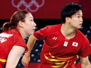[混合初メダルの舞台裏を明かす]渡辺勇大/東野有紗「照れくささなんて超えました」
