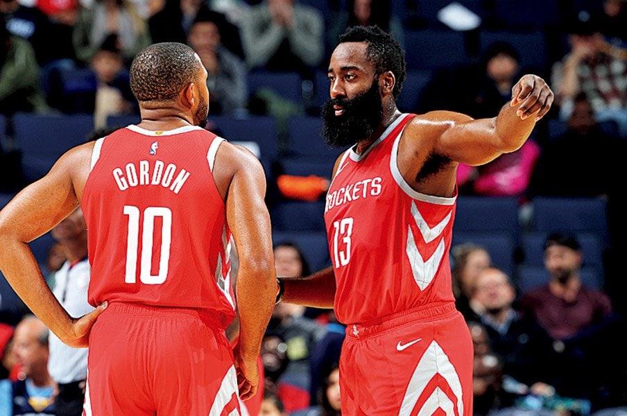 ロケッツの再挑戦がスタート。今季こそ王者の牙城を崩せるか。~NBAウォリアーズ1強をとめる方法は~<Number Web> photograph by Getty Images