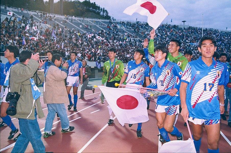 サッカー界とテレビ業界まで変えた。実況席で見た1992年アジア杯初制覇。<Number Web> photograph by Kazuaki Nishiyama
