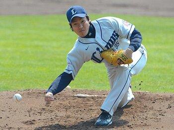 二大アンダースロー投手の徹底比較。牧田と渡辺俊は打者からどう見える?<Number Web> photograph by Toshiya Kondo
