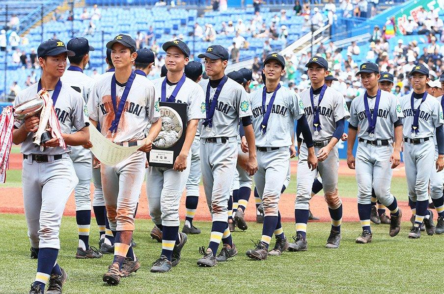 小山台高校野球班に受け継がれる志。大事な試合に現れる「赤とんぼ」。<Number Web> photograph by NIKKAN SPORTS