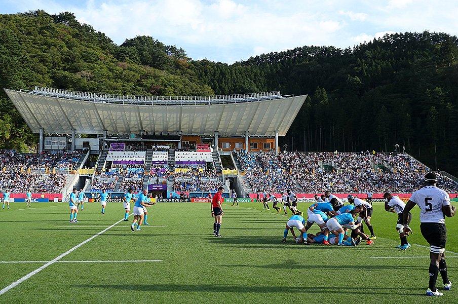釜石で起きたラグビーW杯の奇跡。やっと味わえた「特別な空間」。<Number Web> photograph by Getty Images