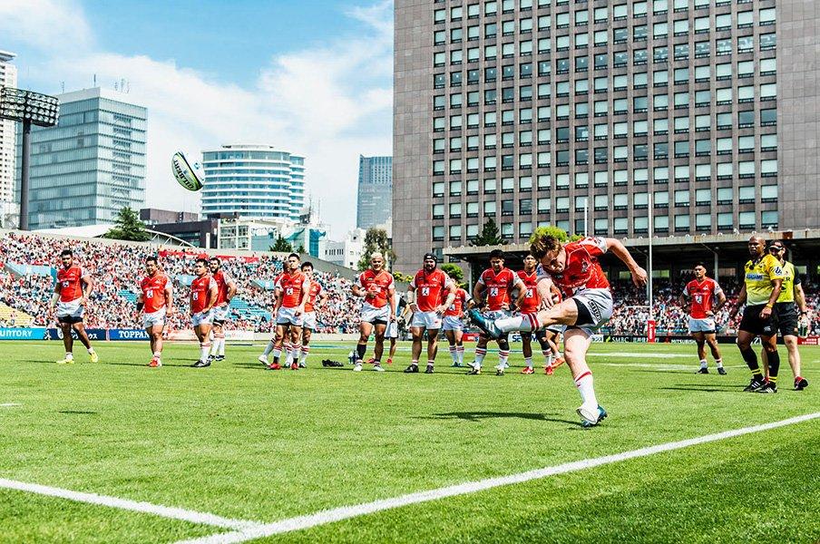 サンウルブズを3カ月半追いかけて。スーパーラグビー初勝利は必然だった。<Number Web> photograph by Atsushi Kondo
