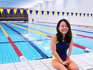 競泳バタフライの代表候補、西田杏。パラ五輪の夢は絶対にリオでかなえる!