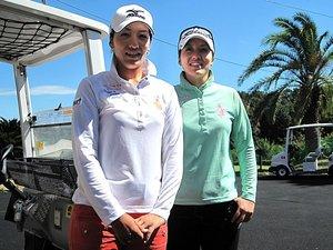 久保啓子・宣子/女子ゴルフ 「猛虎魂を受け継ぐ美人姉妹」