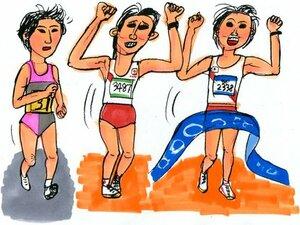日本女子マラソン、あのランナーの走りが忘れられない!