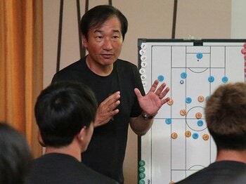 Jクラブは開幕前、何を鍛えている?レノファ山口のキャンプ潜入・前編。<Number Web> photograph by Norio Rokukawa