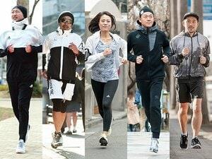 やっぱり走っている人はカッコいい!街で、公園で、皇居で。お洒落ランナーをスナップ!~モノトーンで引き締める編~