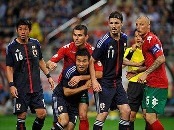 無敗の聖地・埼スタでW杯決定を!オーストラリア戦、日本はどう戦う?<Number Web> photograph by Takuya Sugiyama