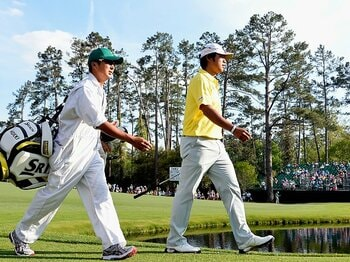 予選落ちの意味と、変わらないもの。松山英樹とマスターズ優勝との距離。<Number Web> photograph by Getty Images