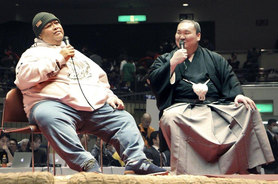 「白鵬杯」で感じた希望と危惧。相撲界がこれからも繁栄するために。<Number Web> photograph by Kyodo News