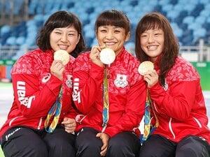 名コーチと猛練習、吉田沙保里の存在。登坂、伊調、土性、3連続逆転は必然だ。