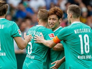 今季ブンデスは日本人選手が受難。でも大迫勇也はクラブで絶大な信頼!