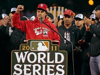 名将ラルーサの監督術。~MLB33年のキャリアを検証する~<Number Web> photograph by Getty Images