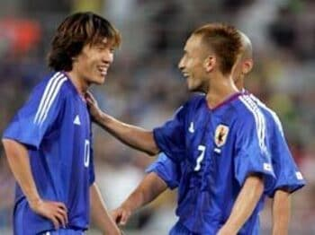 2005年コンフェデレーションズカップVSブラジル戦(2005年6月22日)<Number Web> photograph by Naoya Sanuki