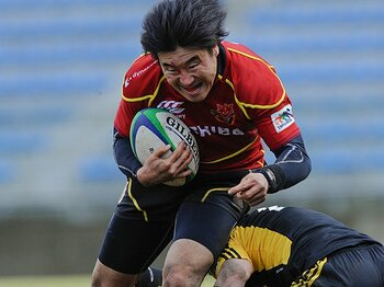 「僕も未練タラタラ」さらば中年の星、松田努。~日本ラグビーを支え続けた名FB~<Number Web> photograph by Yuka Shiga