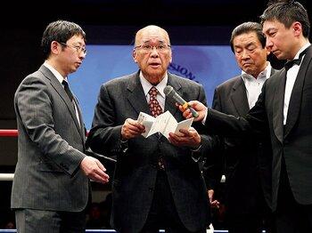 総合格闘技の礎を築いた、浦田昇の死を悼む。~修斗に尽くした名コミッショナー~<Number Web> photograph by Susumu Nagao