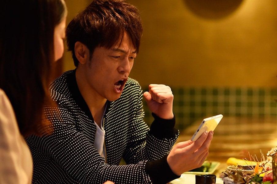 陣内智則、J:COM MOBILEでプロ野球三昧宣言。<Number Web> photograph by Takashi Shimizu