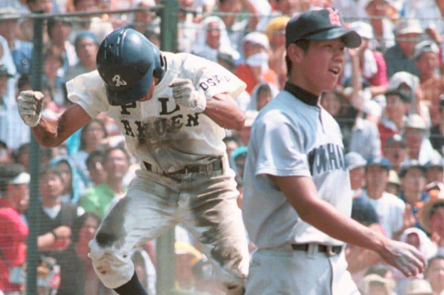 なぜ松坂大輔はPLに打たれたのか。松坂、平石が語る20年目の真実。<Number Web> photograph by Kyodo News