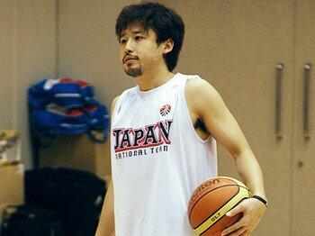 田臥の12年ぶりの復帰で、バスケ代表の再建なるか。~ロンドン五輪出場に向けて~<Number Web> photograph by KYODO