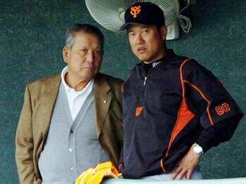 """原辰徳が貫いてきた、父親譲りの野球哲学。~""""勝負師""""の遺志を継いで~<Number Web> photograph by NIKKAN SPORTS"""