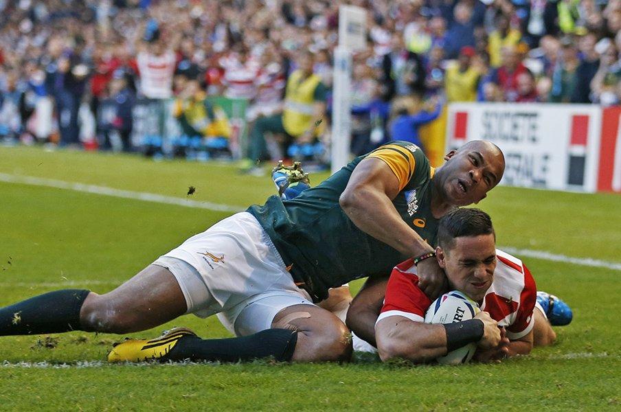 ラグビーW杯、日本×南アフリカ。「何回でも泣ける」熱狂の日の記録。<Number Web> photograph by AFLO