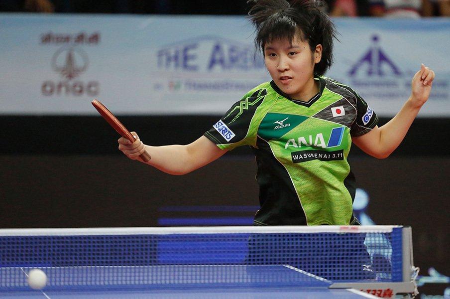 「自信がない」から「卓球、楽しい」。平野美宇はいかに壁を超えたのか。<Number Web> photograph by AFLO