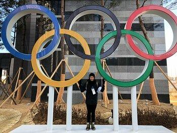 選手村の中はどうなっているのか。伊藤華英が感じた五輪特有の空気。<Number Web> photograph by Hanae Ito