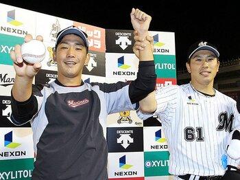 一番倒したい選手は大谷翔平。ロッテ高野圭佑、プロ2年目の野望。<Number Web> photograph by Kyodo News