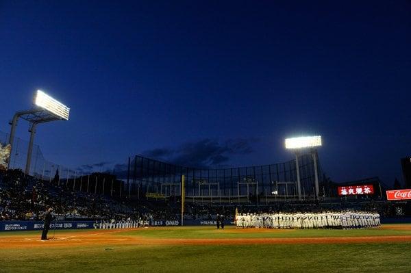 六大学野球秋季リーグ戦閉会式