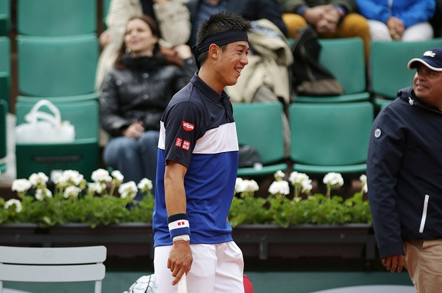全豪で錦織圭の敵は年上か、年下か。「若手ではない」立ち位置はタフだ!<Number Web> photograph by Hiromasa Mano