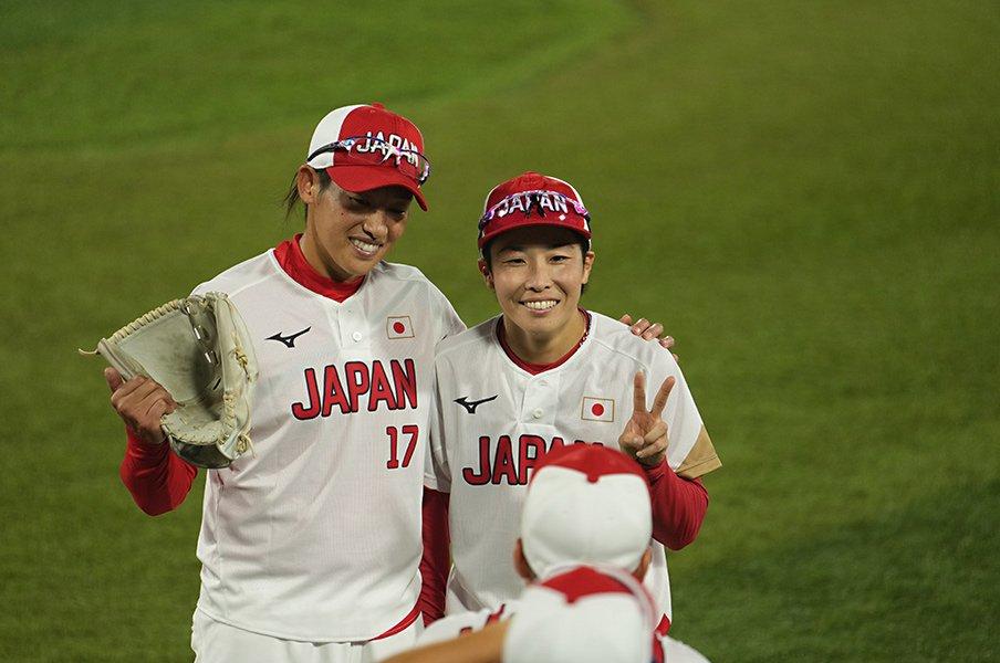 """「何度もソフトボールを辞めたいと」主将・山田恵里が明かす13年の重圧とマウンドに立つ上野由岐子を見る""""幸せ"""""""