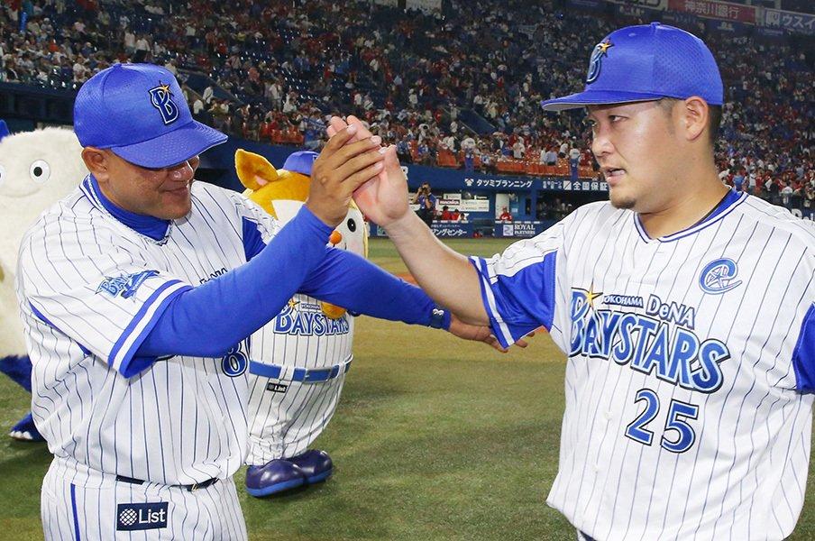 2番梶谷、9番倉本、そして3番筒香。ラミレス監督の奇策が成功する理由。<Number Web> photograph by Kyodo News