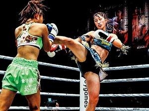 迫力不足の声も今は昔。勢いづく女子キックボクシング。