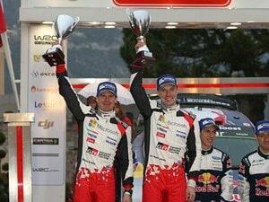 ベテランの円熟味、ラトバラが2位。WRC復帰戦で見せたトヨタの底力。