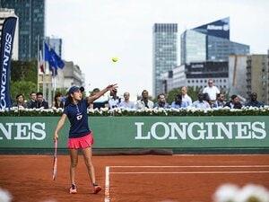 ロンジンが見通したテニスの未来――。フューチャーテニスエース大会詳報。~加藤智子が準決勝まで進む快挙!~
