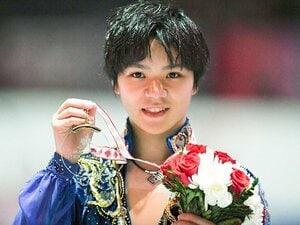 カナダ杯で『君が代』流した宇野昌磨。300点越え圧勝で五輪へ向け視界良好。