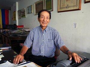 元コロンビア代表の日系人がいた!道工薫、90歳のサムライ蹴球人生。