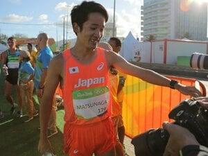 日本競歩、初入賞は悔しさと共に。松永大介が4年後のメダルを宣言。