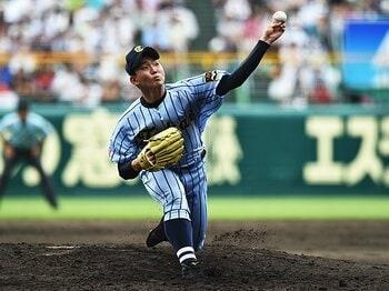 プロスカウトが初戦で去った甲子園。しかし、スターは確かに存在した!<Number Web> photograph by Hideki Sugiyama