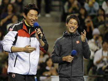 最近、錦織圭が明るくなってきた!?「ケガをして良かったと思う部分も」<Number Web> photograph by Kyodo News
