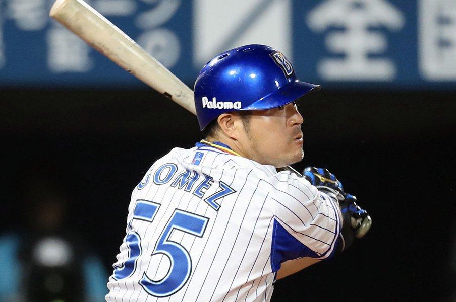 後藤武敏、CS進出への密かな想い。「松坂と対戦したいなあ。それが夢」<Number Web> photograph by Kyodo News