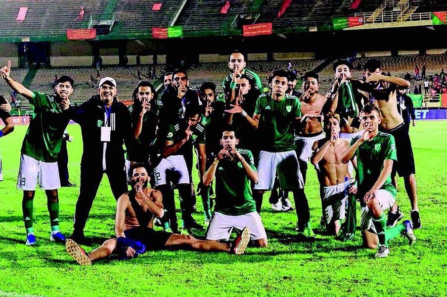 カダフィ大佐後のリビア・サッカー。戦下の国のクラブ、代表チームとは?<Number Web> photograph by facebook@AlnsrClub