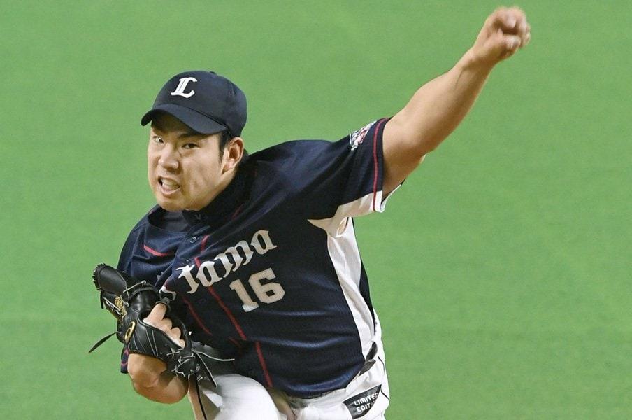 ローテ以上、エース未満のジレンマ。菊池雄星に必要な「勝負所の100%」。<Number Web> photograph by Kyodo News