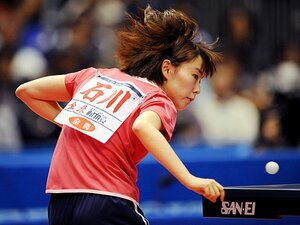 <2012世界卓球プレビュー> 石川佳純 「芽生え始めたエースの自覚」