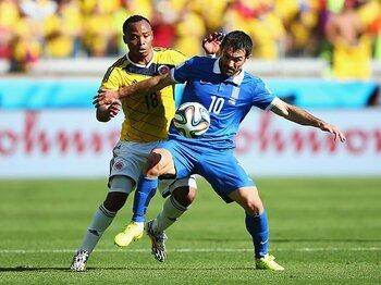 「ギリシャのサッカーは守備的か?」今、日本に必要とされる観察眼。 <Number Web> photograph by Getty Images