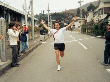 <私とラン> 金融対抗箱根駅伝 「5区の山登りで逆転勝利を」<Number Web> photograph by Yuji Ota